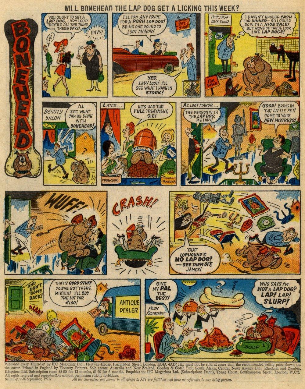 Bonehead: Reg Parlett (artist)