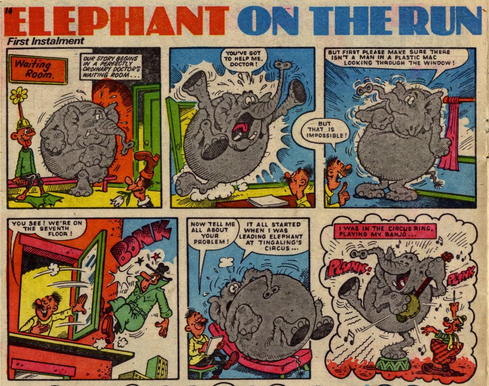 Elephant on the Run: Robert Nixon (artist)