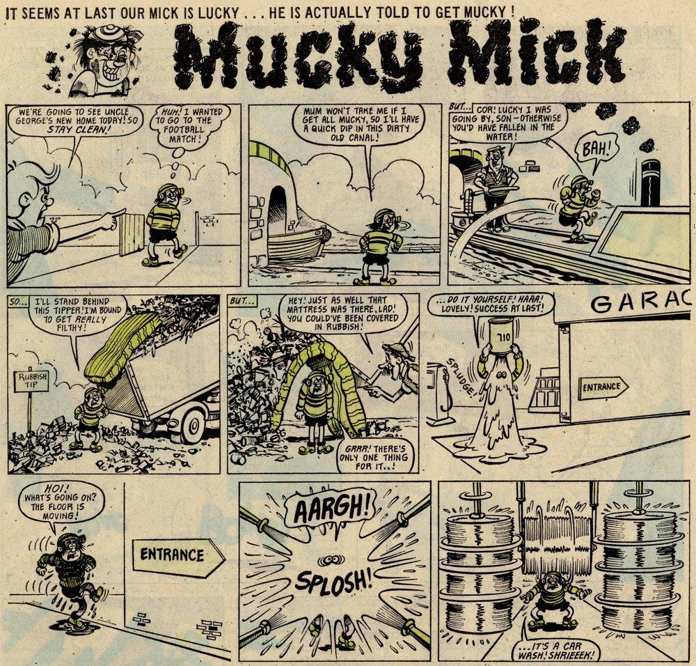 Mucky Mick: John Geering? (artist)