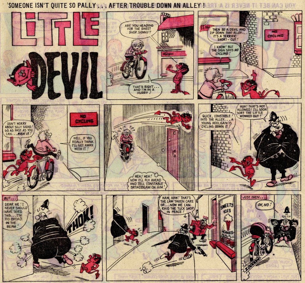 Little Devil: Murray Ball (artist)