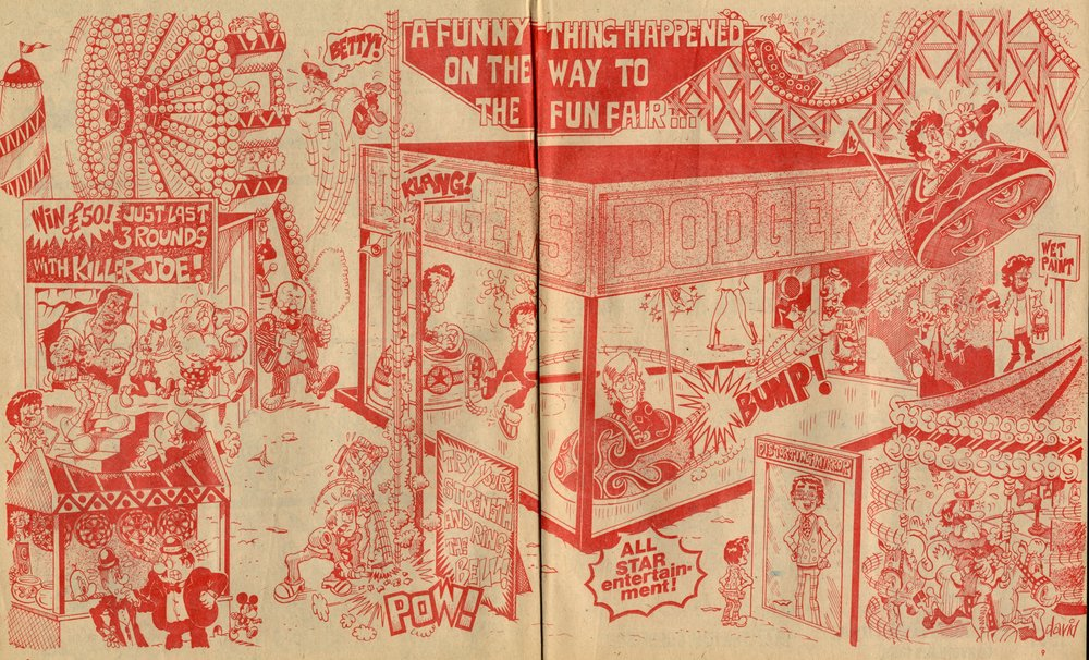 A Funny Thing Happened on the Way to the Fun Fair: David Sell (artist)