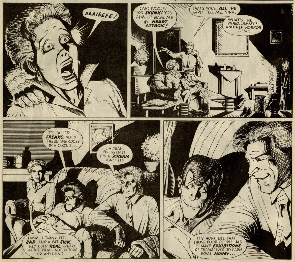 Freaks: Peter Milligan (writer), John Higgins (artist)