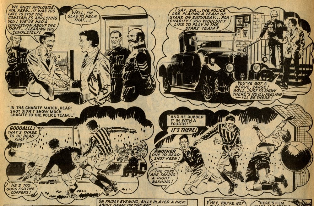 Billy's Boots: Fred Baker (writer), Barrie Mitchell (artist)