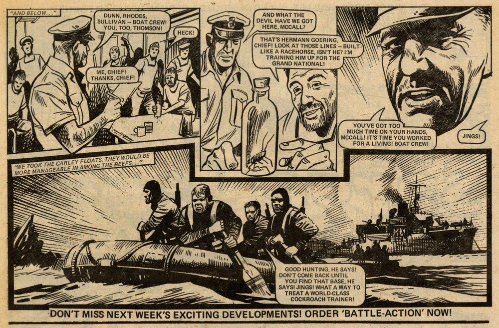 HMS Nightshade: John Wagner (writer), Mike Western (artist)