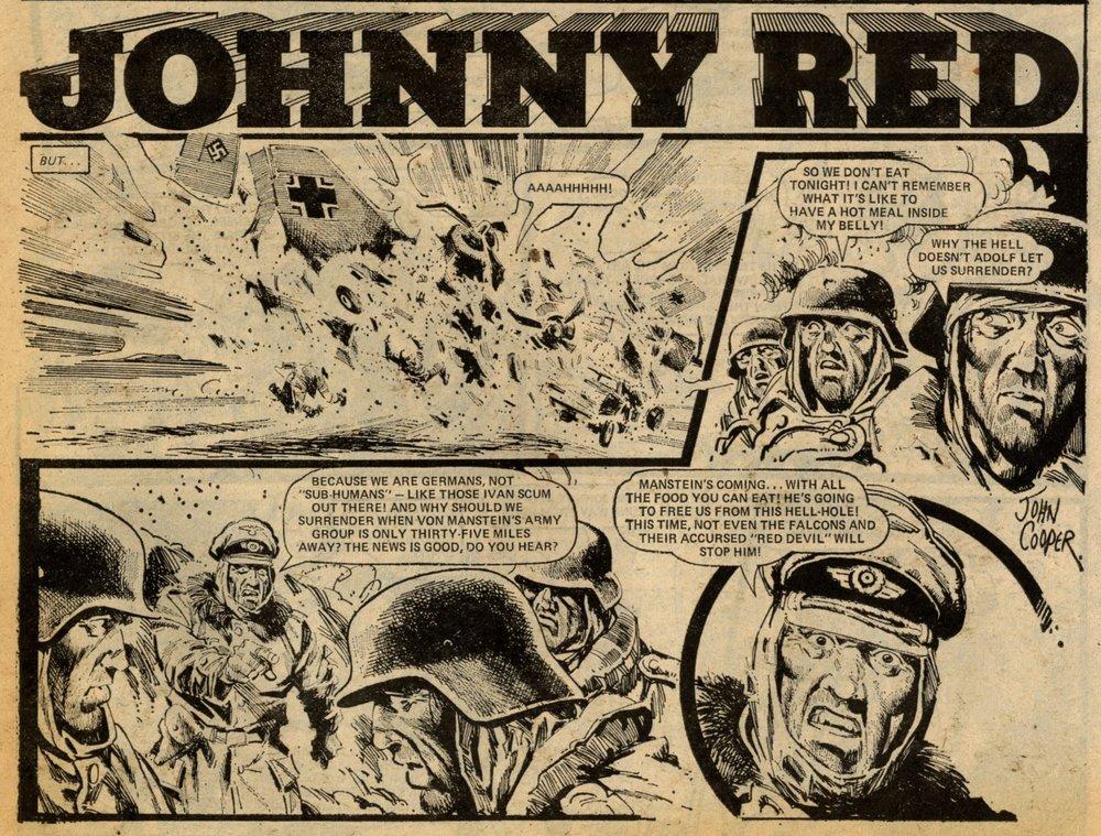 Johnny Red: Tom Tully (writer), John Cooper (artist)