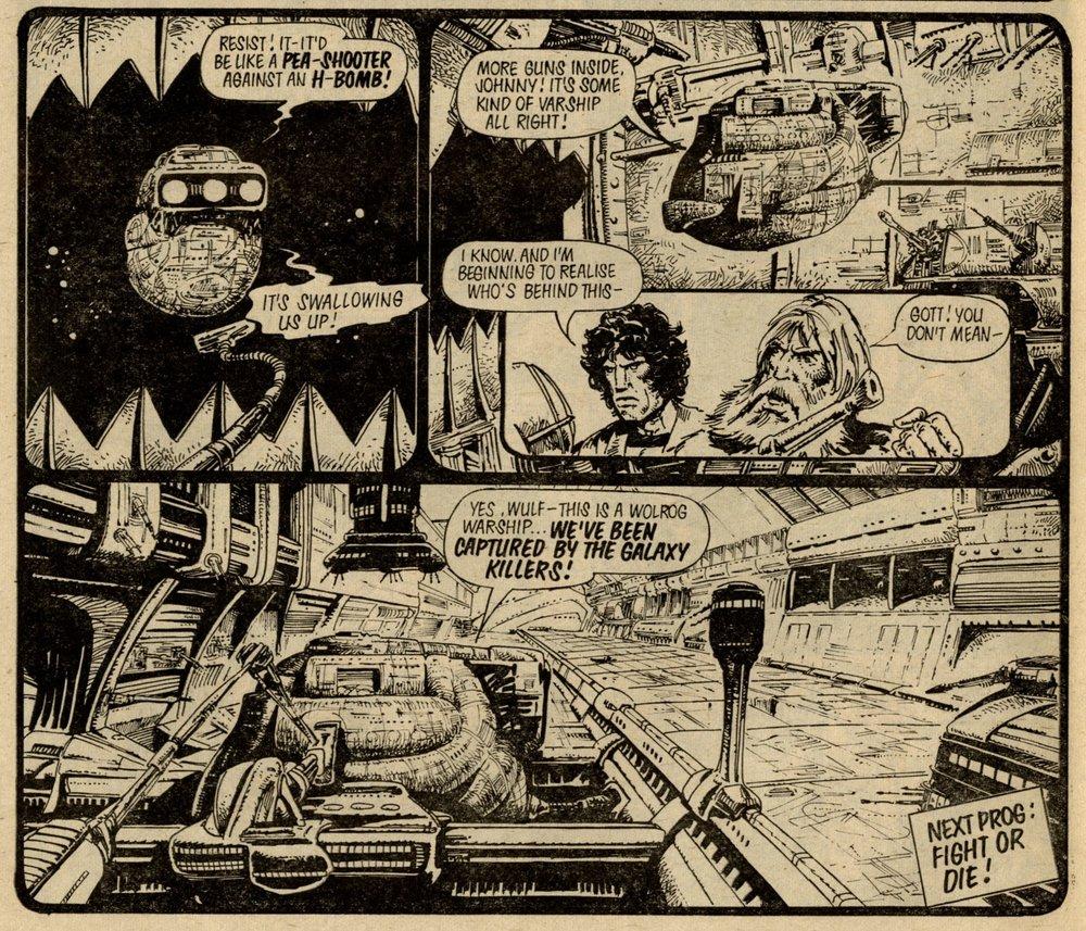 Strontium Dog: John Wagner (writer), Carlos Ezquerra (artist)