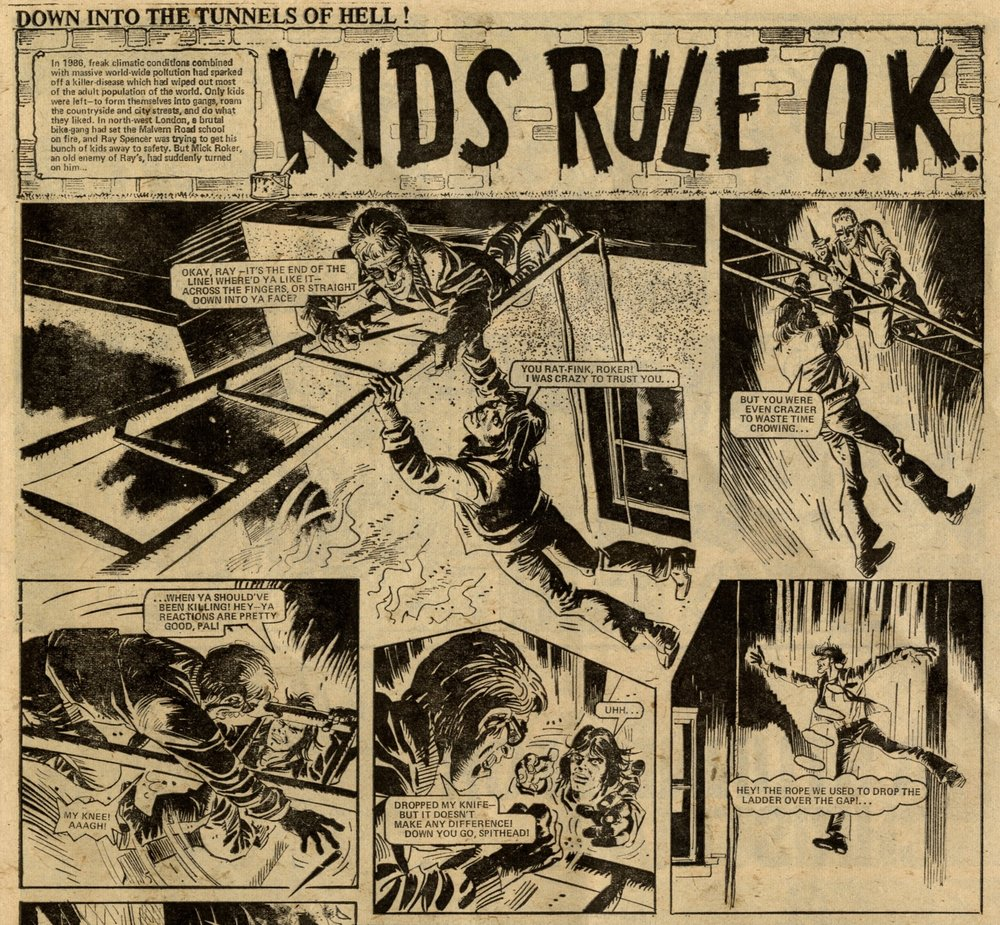 Kids Rule OK: Chris Lowder (writer), Mike White (artist)