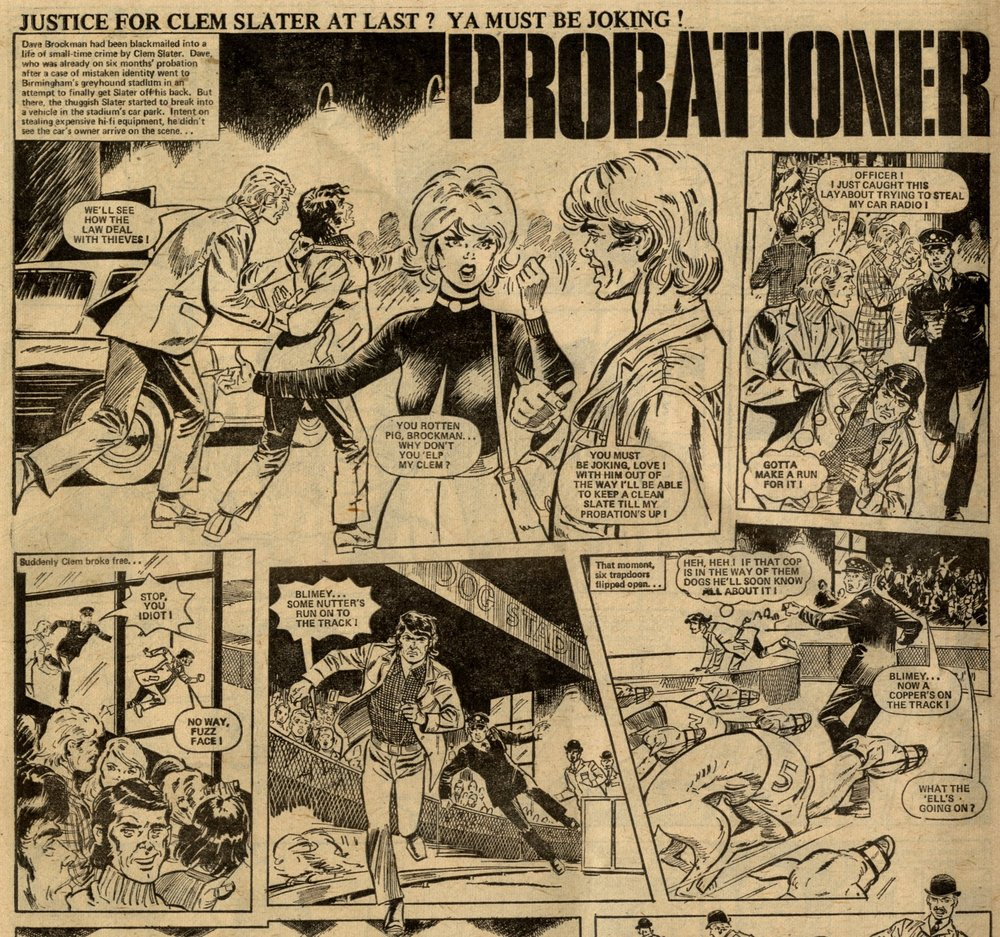 Probationer: Stewart Wales and Geoff Kemp (writers), Tom Hirst (artist)