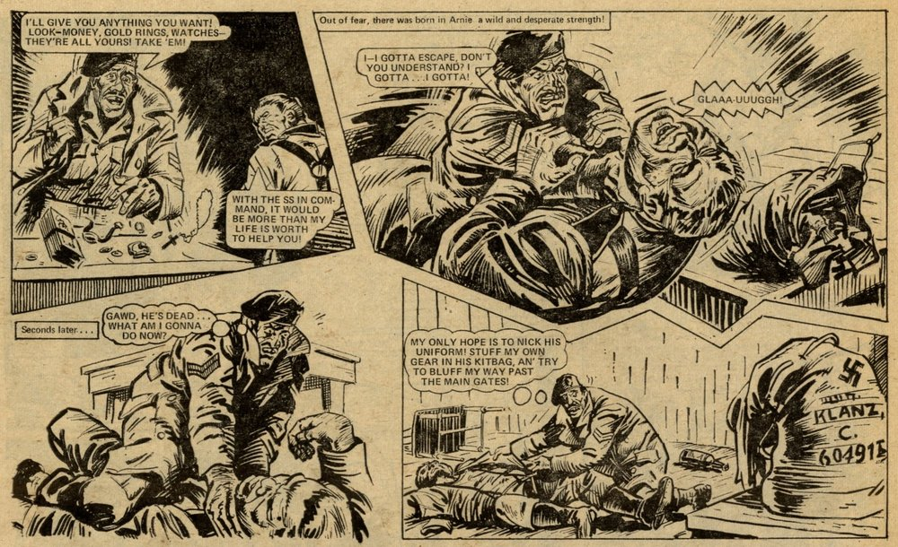 Soldier Sharp:   Scott Goodall (writer), artist unknown