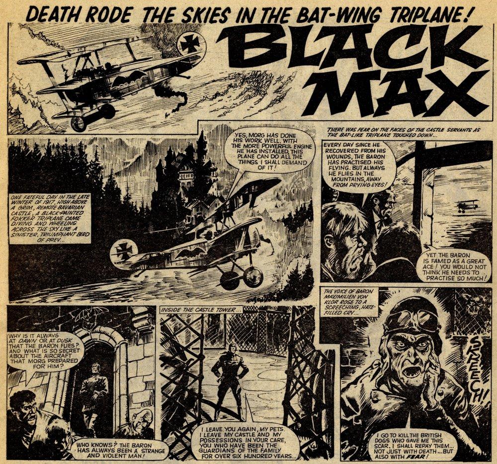 Black Max: Ken Mennell (writer), Eric Brdabury (artist)