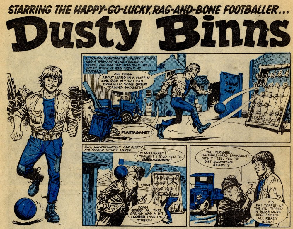 Dusty Binns: Geoff Campion (artist)