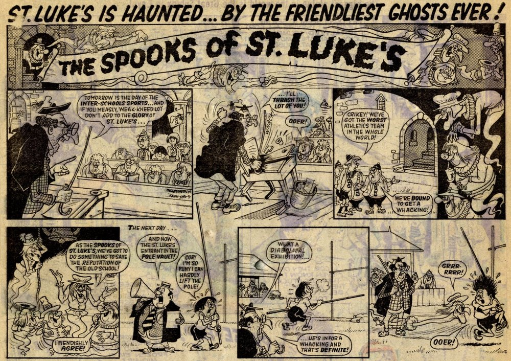 The Spooks of St Luke's: Cyril Price (artist)