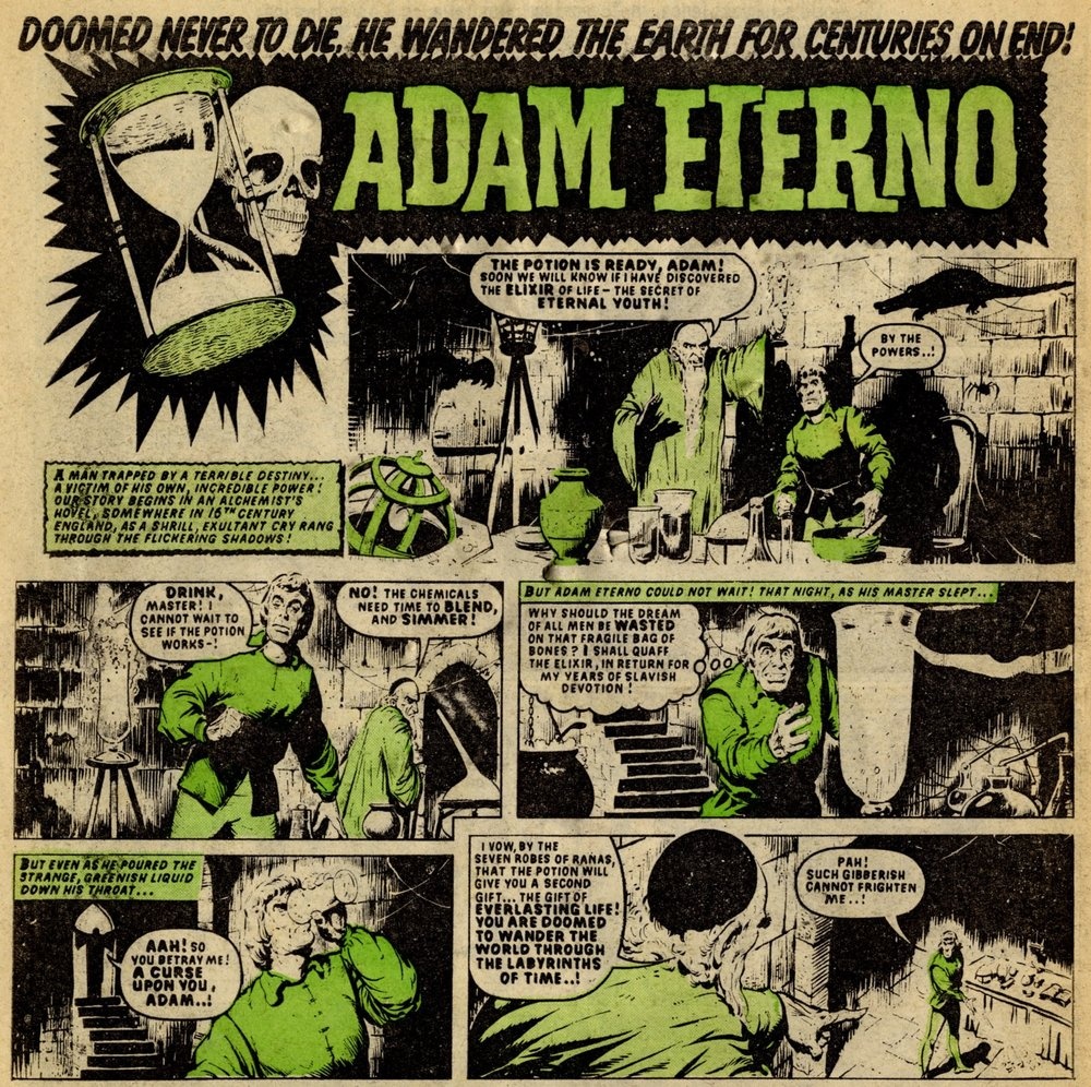 Adam Eterno: Tom Kerr (artist)