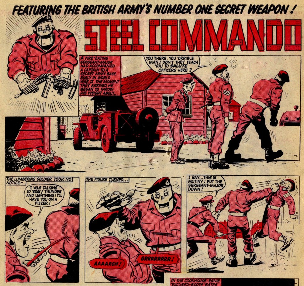 Steel Commando: Alex Henderson (artist)