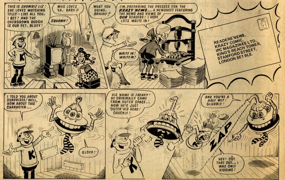 The Krazy Gang: Ian Knox (artist)