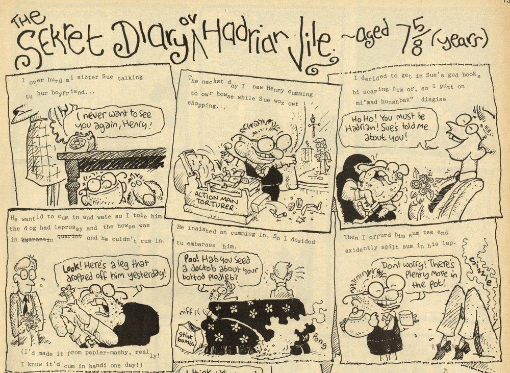 The Sekret Diary ov Hadrian Vile: Mark Rodgers (writer), Ian Jackson (artist)