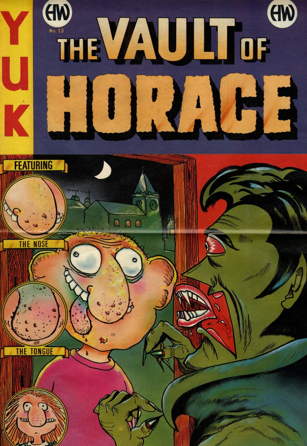 The Vault of Horace poster: Tony Husband (artist)