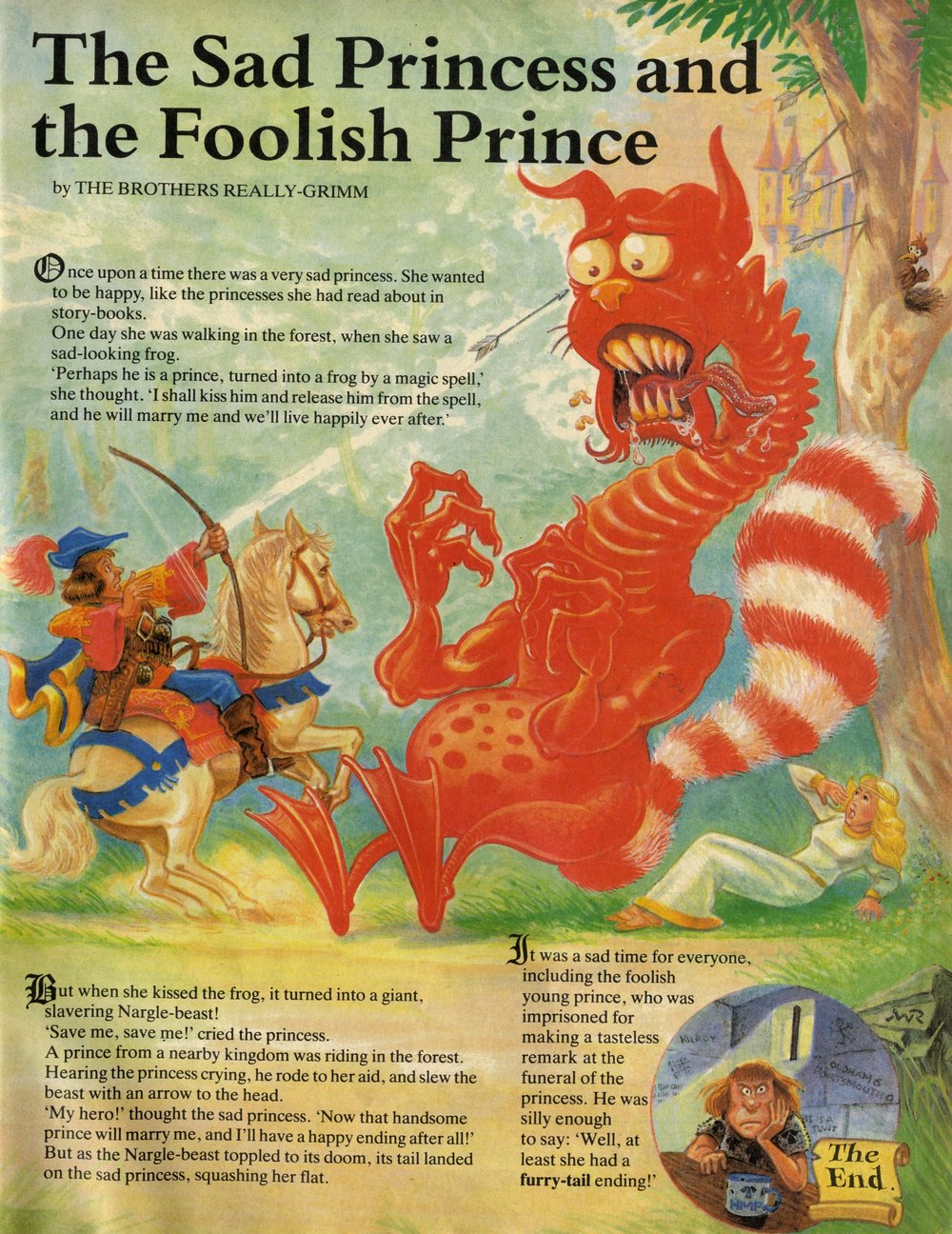 The Sad Princess and the Foolish Prince: creators unknown