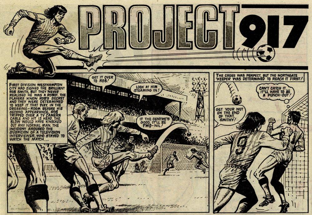 Project 917: Ian Vosper (writer), John Stokes? (artist)
