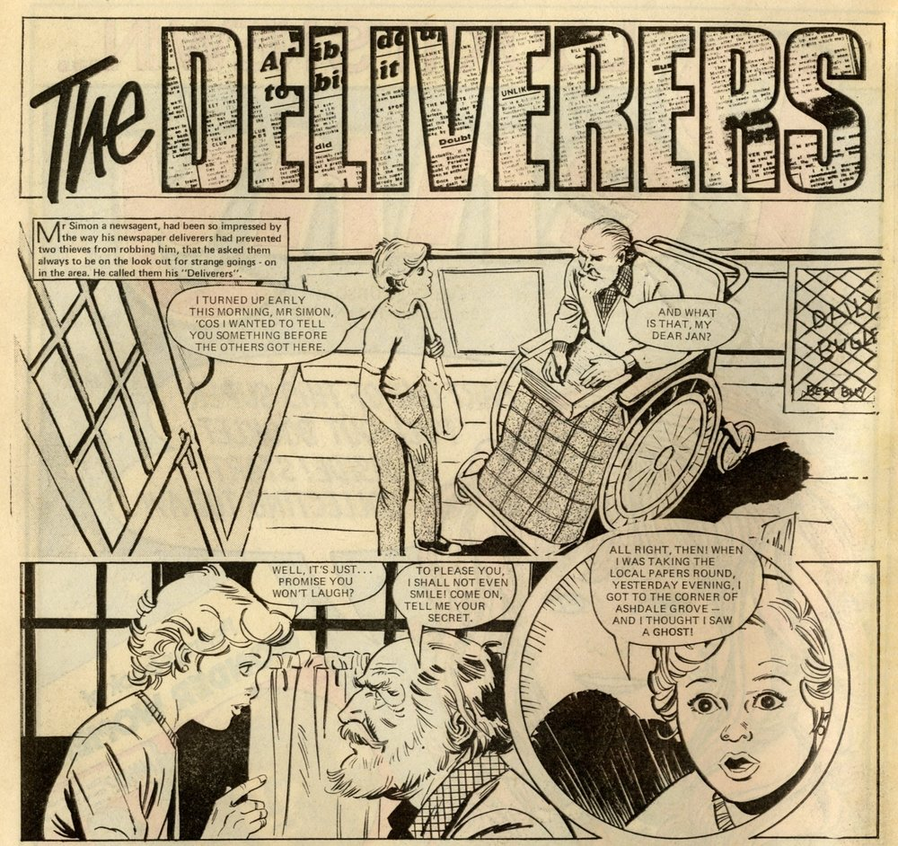 The Deliverers: Rodrigo Comos (artist)