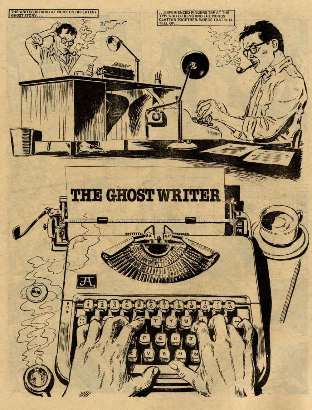 The Ghost Writer: John Armstrong (artist)