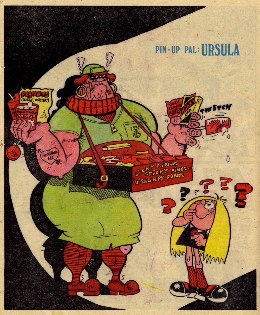 Pin-up Pal: Ursula (artist Frank McDiarmid), 29 April 1978