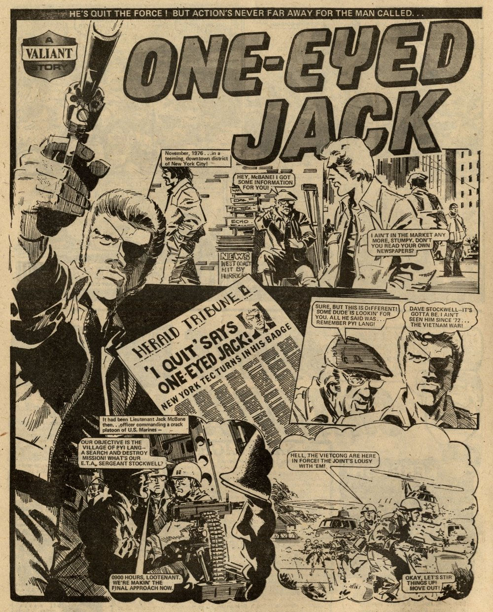 One-eyed Jack: Scott Goodall (writer), John Cooper (artist)