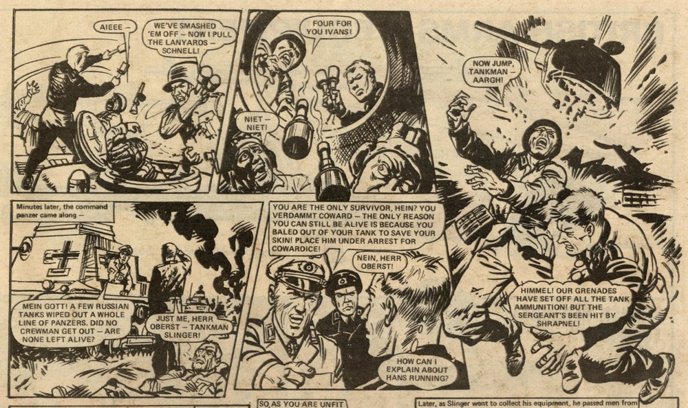 Panzer G-Man: Gerry Finley-Day (writer), Geoff Campion (artist)