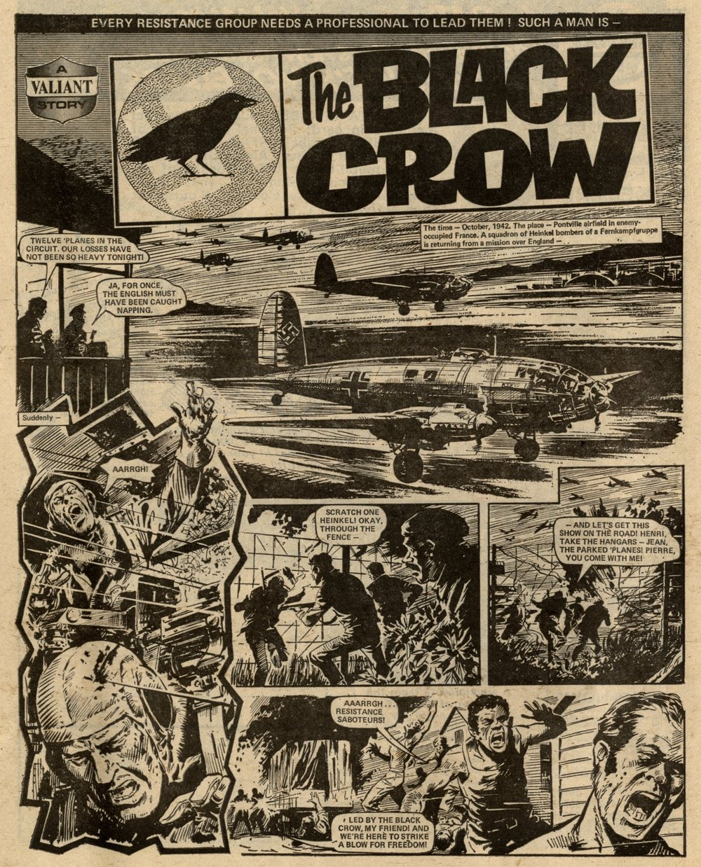 The Black Crow: Scott Goodall (writer), Eric Bradbury (artist)