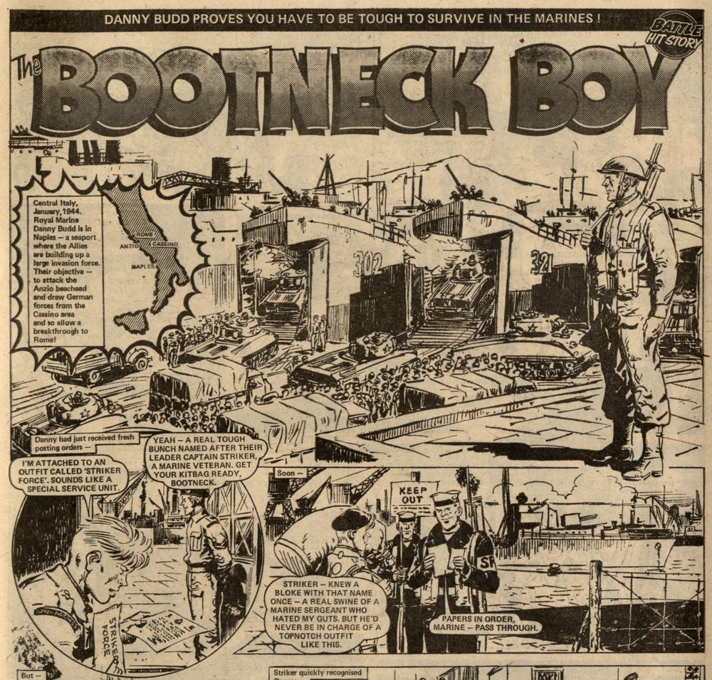 The Bootneck Boy: Gerry Finley-Day (writer), Giralt (artist)