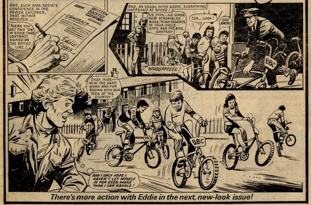 Topps on Two Wheels: Mike Western (artist)