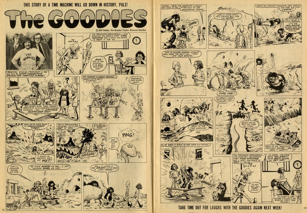 The Goodies: Joe Colquhoun (artist)