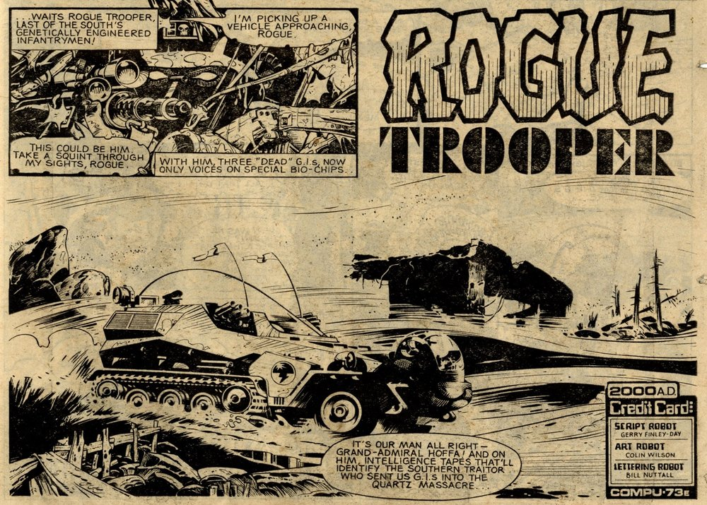 Rogue Trooper: Gerry Finley-Day (writer), Colin Wilson (artist)