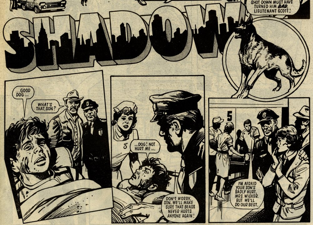 Shadow: John Wagner (writer), Mike Western (artist)