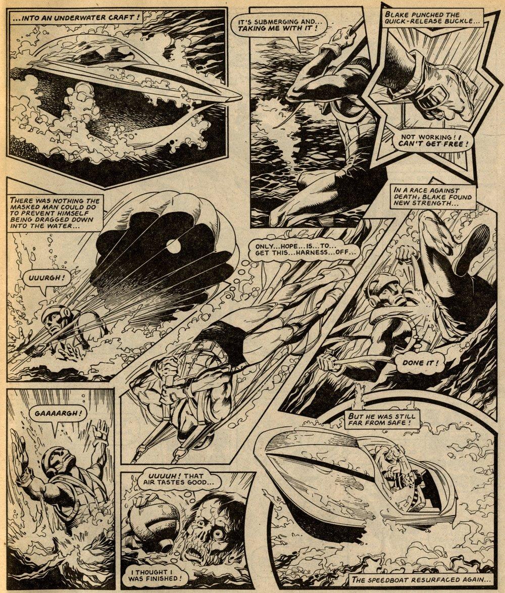 Death Wish: Barrie Tomlinson (writer), Eduardo Vanyo (artist)
