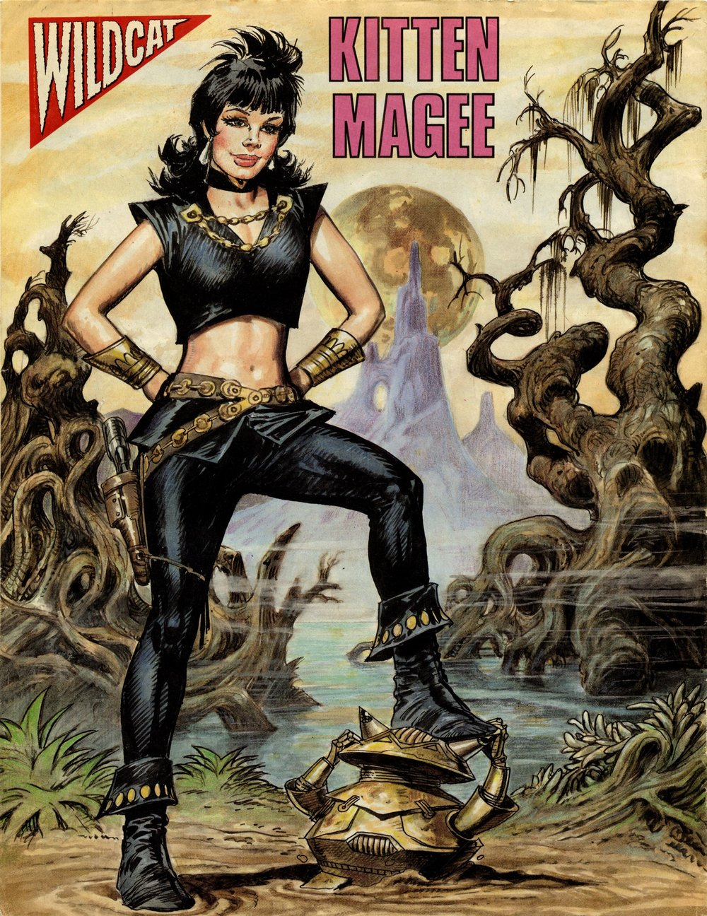 Kitten Magee poster: Jose Ortiz (artist)