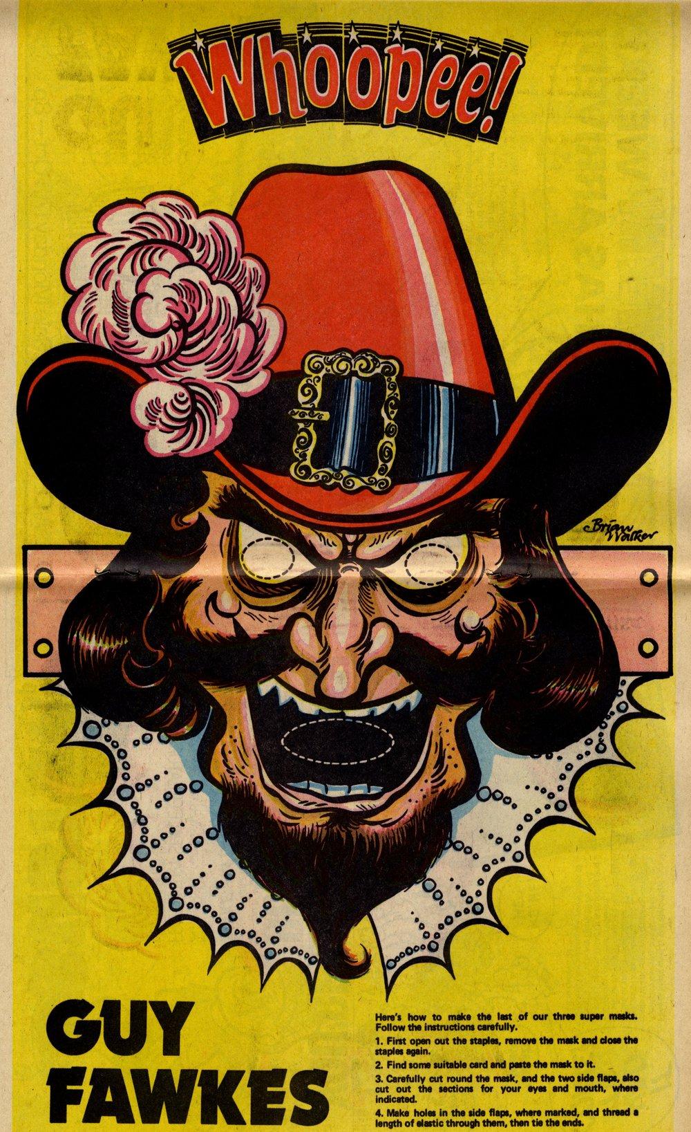 Guy Fawkes poster: Brian Walker (artist)