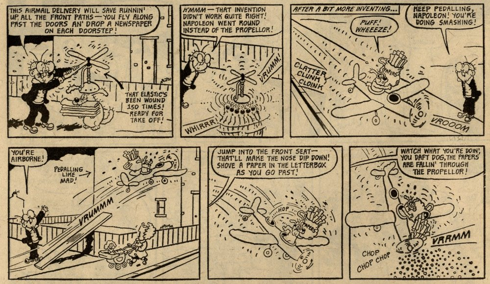 Clever Dick: Leo Baxendale (artist)