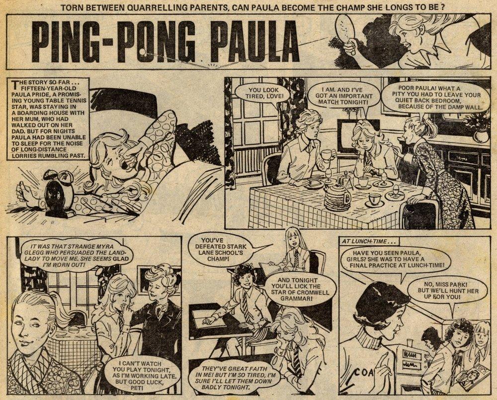 Ping-pong Paula: Jim Baikie (artist)