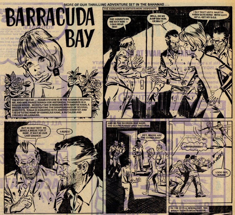 Barracuda Bay: Santiago Hernandez (artist)