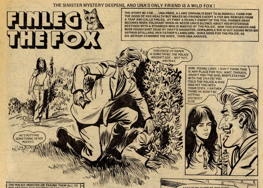 Finleg the Fox: Barrie Mitchell (artist)