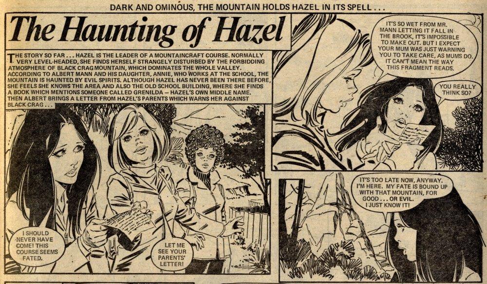 The Haunting of Hazel: Santiago Hernandez (artist)