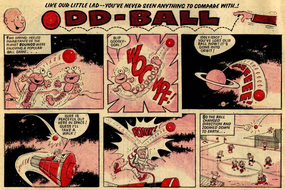 Odd Ball: Mike Lacey (artist)