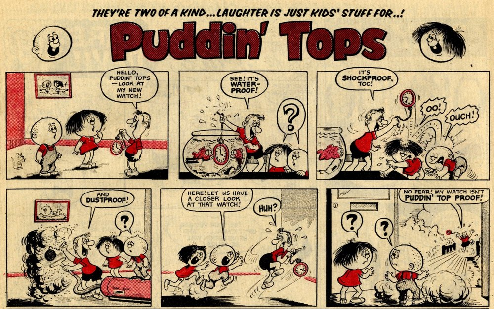 Puddin' Tops: Terry Bave (artist)