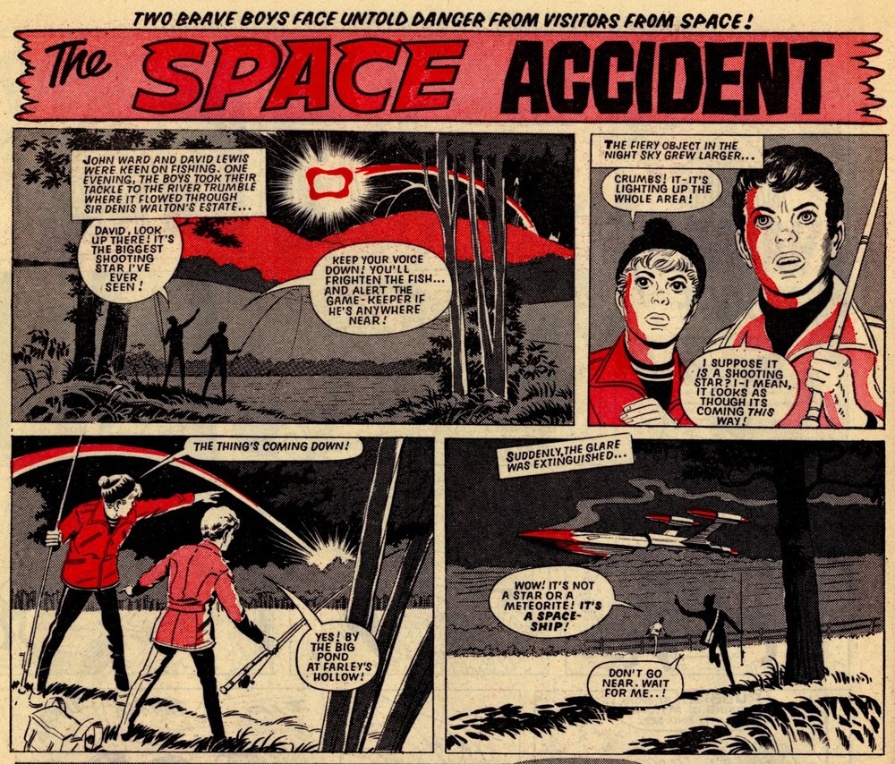 The Space Accident: Ron Turner (artist)