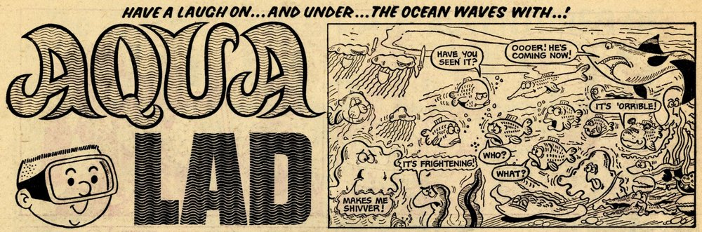 Aqua Lad: Terry Bave (artist)