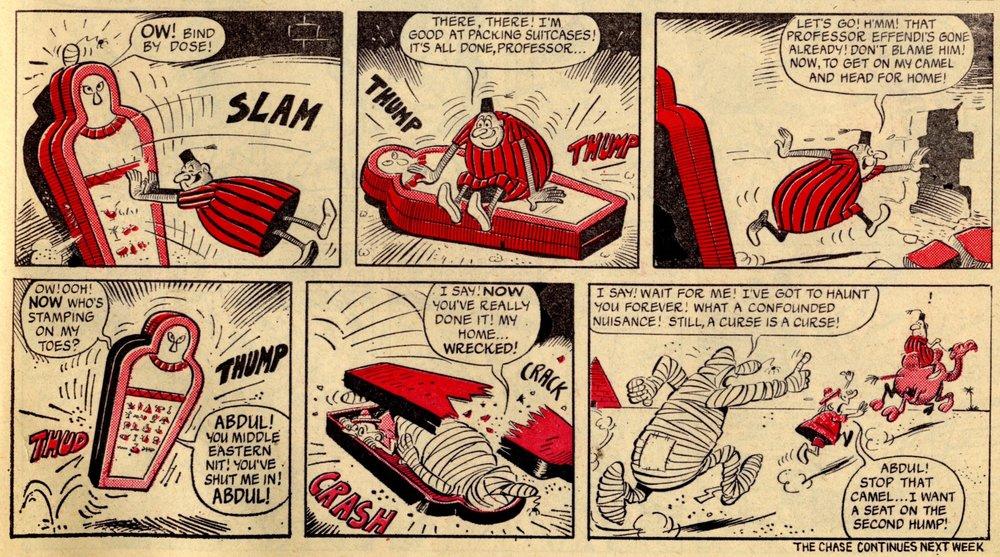 The Mummy's Curse: Reg Parlett (artist)