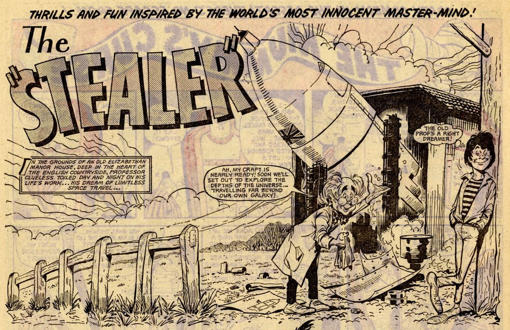 The Stealer: Tom Kerr (artist)