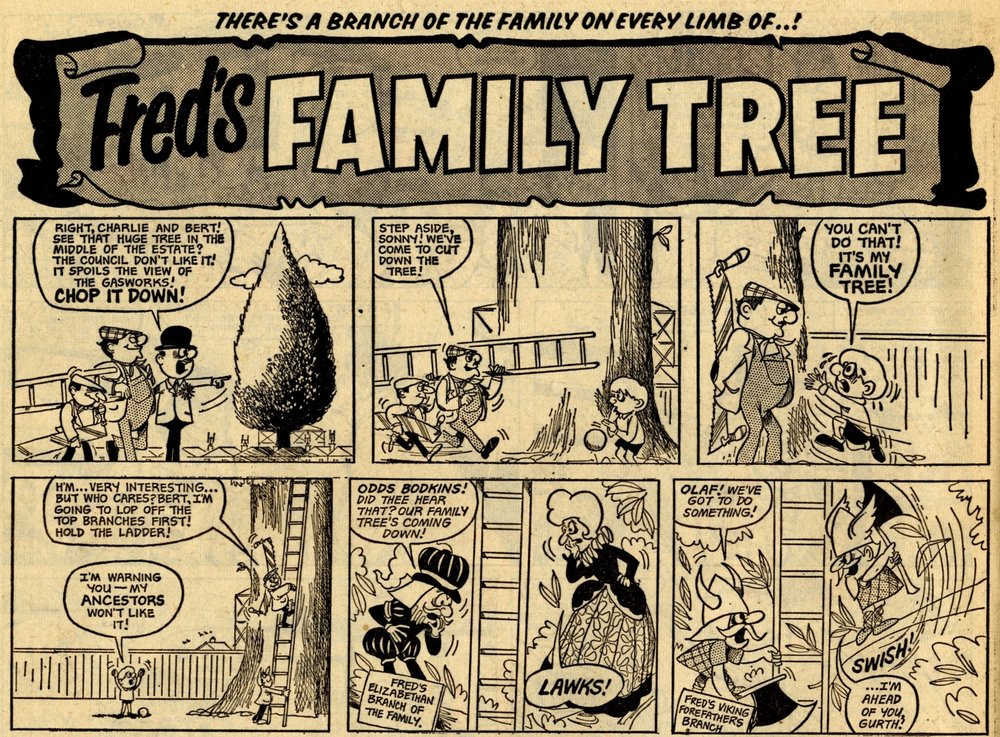 Fred's Family Tree: Toni Goffe (artist)