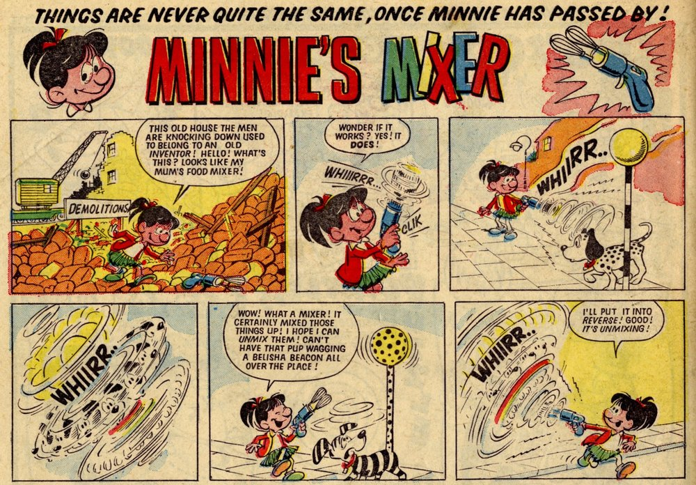 Minnie's Mixer: Angel Nadal (artist)